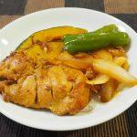 笠原流鶏肉のオレンジ照り焼き