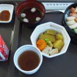 聖路加国際病院病院食海老と蟹ちらし