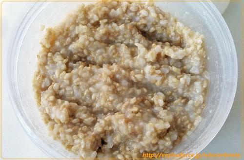 おかゆと玄米麹