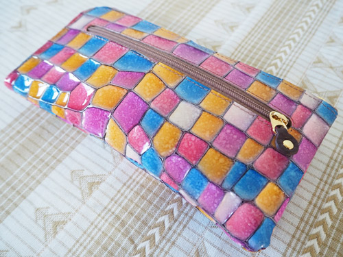 アタオの財布裏