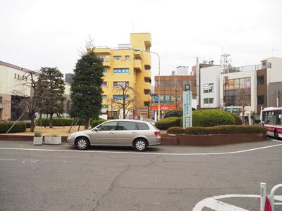 狛江駅北口ロータリー