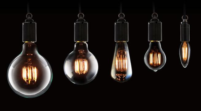 サイフォンフィラメントLED電球