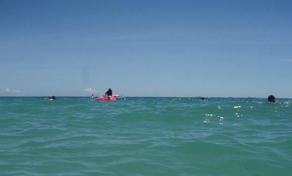 弓ヶ浜の海