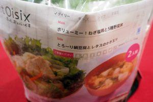 ボリューミー!ねぎ塩鶏と5種野菜丼パッケージ