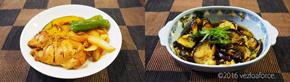 笠原流鶏肉のオレンジ照り焼き調理例