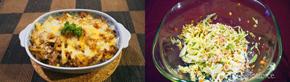 定番味!トマト風味そぼろドリア調理例