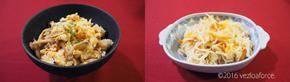 包丁いらず!鮭と4種のきのこご飯調理例