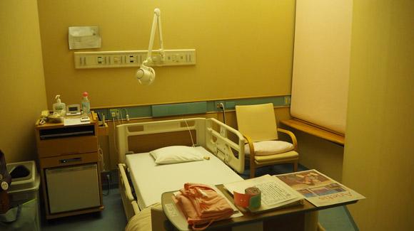 聖路加国際病院個室