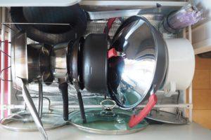 鍋・フライパンラック使用例