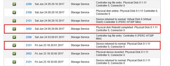 DellのハードウェアRAIDでリビルド時間を計測したら意外な結果に